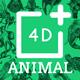 Animal 4D+ ♥ Tạo ảnh động vật 4D trên điện thoại HOT nhất 2020