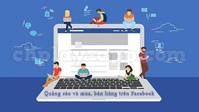 download facebook ve may để quảng cáo và mua bán hàng