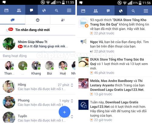 tải facebook Lite file apk về máy