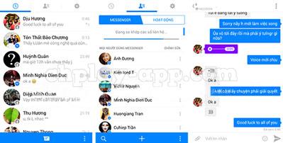 tải messenger apk phiên bản mới nhất cho android