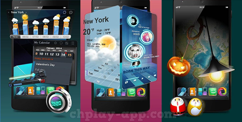 tai Next Launcher 3D Shell apk ve may mien phi