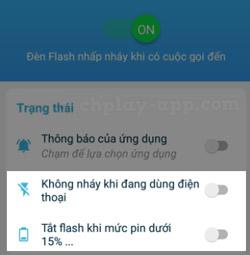 tải ứng dụng nháy đèn flash 3