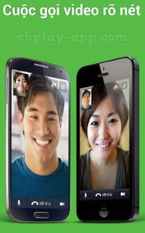 tải line về máy điện thoain android, iphone