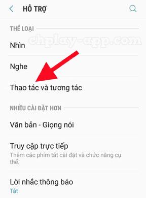 cách bật nút home ảo trên điện thoại android