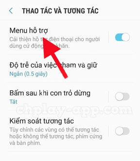 hướng dẫn cách bật nút home ảo cho điện thoại android