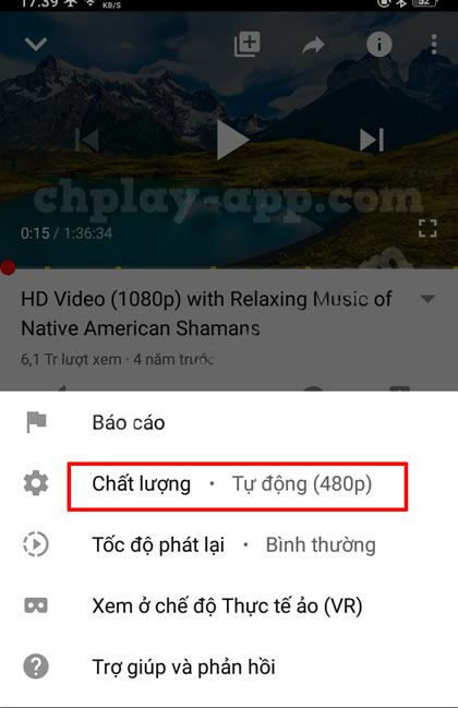thủ thuật youtube - chỉnh độ nét video youtube