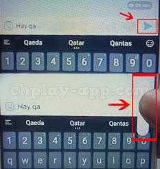 thay đổi cỡ chữ khi nhắn tin trên zalo