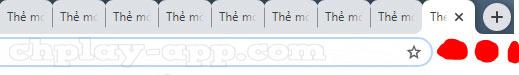 mở nhiều tab trên chrome