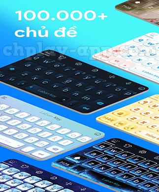 thiết kế bàn phím la ban key theo sở thích